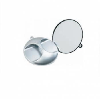 Зеркало Eurostil круглое с ручкой | Venko