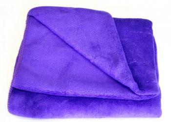 Полотенце из микрофибры темно-фиолетовое 400мг 45*95cm | Venko