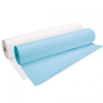 Простынь одноразовая standart белая,голубая 0,8х100 п. м | Venko