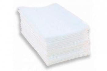 Полотенца влаговпитывающие одноразовые белые 30х50см 100шт нарезные, белые. | Venko