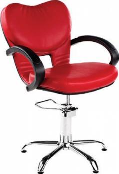 Кресло парикмахерское Clio (красное) Ayala | Venko