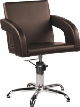 Кресло парикмахерское Tina (коричневое) Ayala Архив | Venko