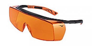 Очки защитные Univet 5x7 от излучения фотополимерных ламп , регул. дужек, ношение с оптич. очками | Venko