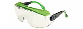 Очки защитные Univet 551 совместное ношение с оптическими очками, покрытие от запотевания, царапин | Venko