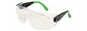 Очки защитные Univet 535 c улучшенной защитой от царапин и запотевания совмесное ношение с оптическими очками | Venko