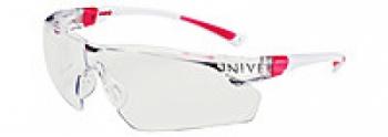 Очки защитные Univet 506U незапотевающие, покрытие от царапин бело розовая оправа, регул. дужек
