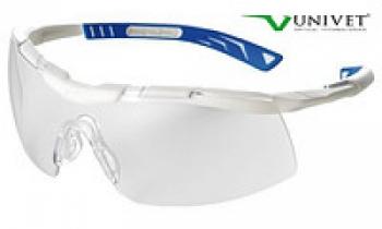 Очки защитные Univet 5х6 покрытие от запотевания и царапин, гибкая оправа, регулировка длины дужек | Venko