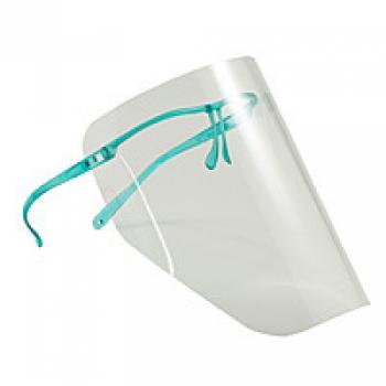 Щиток (10 шт.) без запотевания с пластиковой зеленой рамкой | Venko