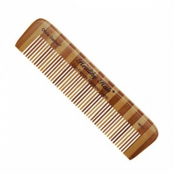 Гребень Olivia Garden Healthy Hair comb 1  бамбуковий | Venko