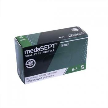 Латексные перчатки неопудренные LatexPF XL medaSEPT, 100 шт