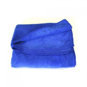 Полотенце из микрофибры темно-синее 400мг 45*95cm