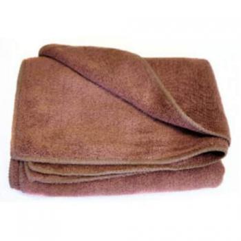 Полотенце из микрофибры коричневое 300мг 45*95cm | Venko