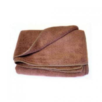 Полотенце из микрофибры шоколадное 400мг 35*75cm | Venko