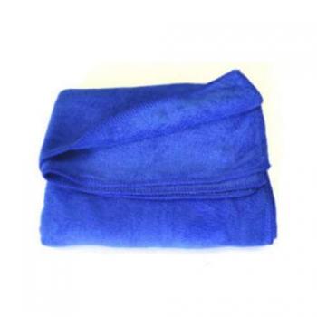Полотенце из микрофибры синее 300мг 35*75cm