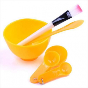 Набор косметологический большой (мисочка 250мл, шпатель, кисть, 3 мерные ложки) | Venko