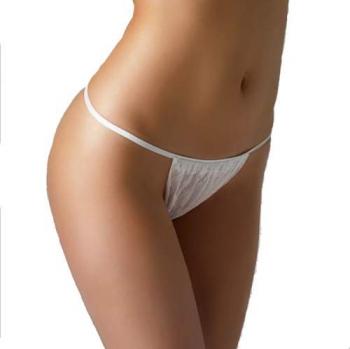 Стринги женские белые L/XL (90 см.)50 шт | Venko