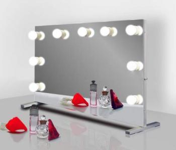 Визажное зеркало J-Mirror Hollywood T с лампами накаливания, 600 х 600 мм | Venko