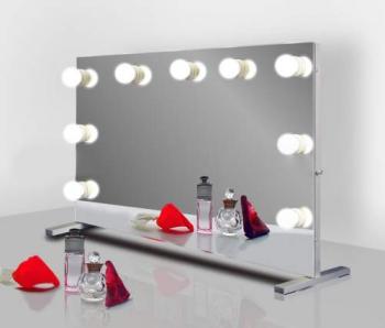 Визажное зеркало J-Mirror Hollywood T с лампами накаливания, 800 х 600 мм