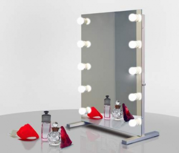 Визажное зеркало J-Mirror Hollywood T2 с LED лампами , 800 х 600 мм | Venko
