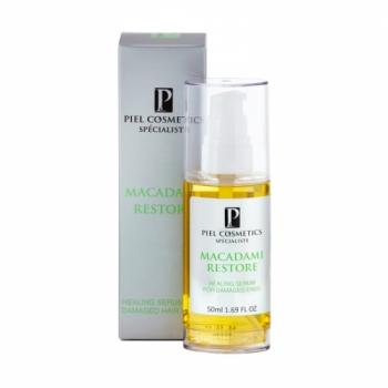 Восстанавливающая сыворотка для кончиков волос  Piel Cosmetics HAIR CARE MACADAMI RESTORE SERUM, 50 мл | Venko