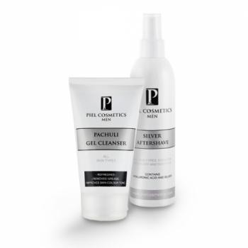 Комплекс: Тонизирование и очистка для мужской кожи. Базовый комплекс. Piel Cosmetics