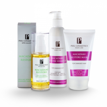 Комплекс: Восстановление поврежденных волос + здоровые кончики Piel Cosmetics