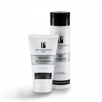 Комплекс: Очищение кожи лица и безупречная прическа для мужчин. Базовый комплекс 3. Piel Cosmetics