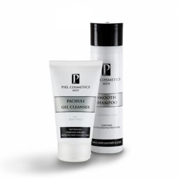 Комплекс: Очищение кожи лица и послушные волосы для мужчин. Базовый комплекс 4. Piel Cosmetics | Venko