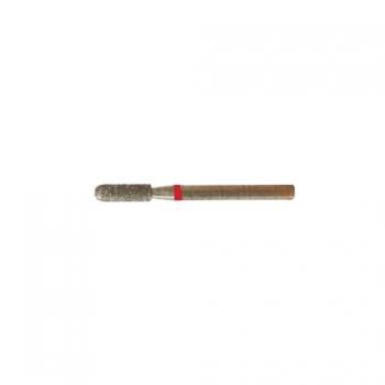 Насадка алмазная Скругленный цилиндр, 2,5 мм мелкая насечка | Venko