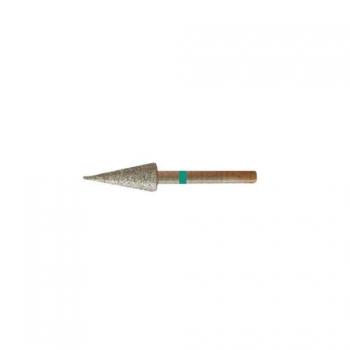 Насадка алмазная Острый Конус, 5,0 мм грубая насечка | Venko