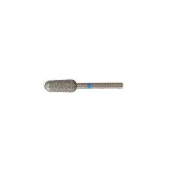 Насадка алмазная для педикюра Цилиндрический конус  5,0 мм средняя насечка | Venko
