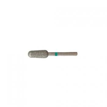 Насадка алмазная для педикюра Цилиндрический конус  5,0 мм грубая насечка | Venko