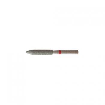 Насадка алмазная для педикюра  Скругленный цилиндр 3,1  мм мелкая насечка
