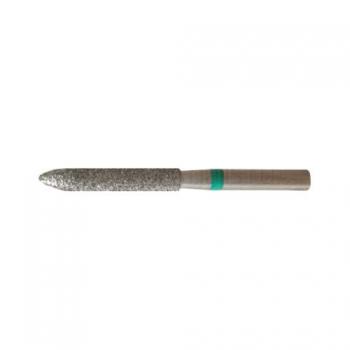 Насадка алмазная для педикюра  Скругленный цилиндр 3,1 мм грубая насечка | Venko