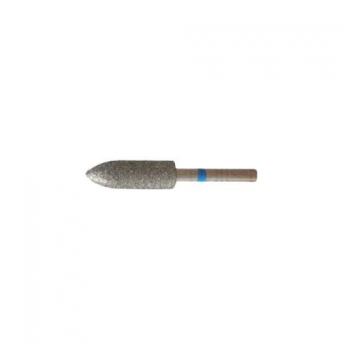 Насадка алмазная для педикюра Скругленный цилиндр, 5,0 мм средняя насечка | Venko