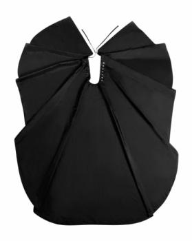 Накидка Comair Duo черная | Venko