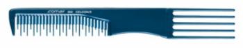 Расческа с гребнем для тупирования Comair, синяя | Venko