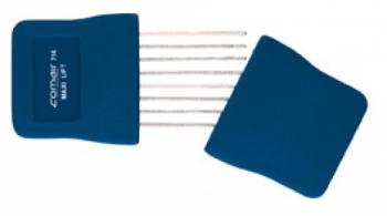 Гребень Comair Африканский с металлическими концами, синий | Venko