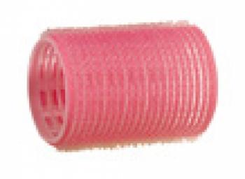 Бигуди-липучки Comair Jumbo (уп/ 12 шт), d 44 mm, розовые | Venko
