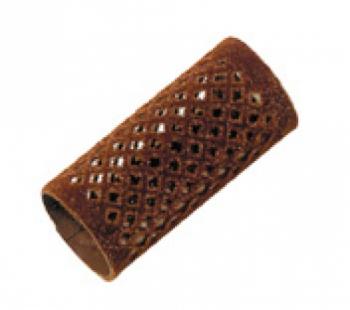 Бигуди металлические длинные Comair, коричневые, d 28 mm, (уп/ 12 шт) | Venko