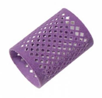 Бигуди металлические длинные Comair, фиолетовые, d 45 mm, (уп/ 12 шт) | Venko