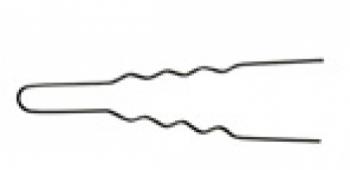 Шпильки Comair тонкие, черные, d 45 mm, (уп/ 50 уп/)