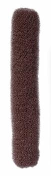 Валик для прически Comair, нейлон, коричневый, 4 х 22 см