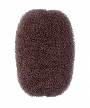 Валик для прически Comair, нейлон, коричневый, 7 х 11 см
