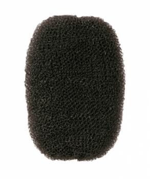Валик для прически Comair, нейлон, черный, 7 х 11 см
