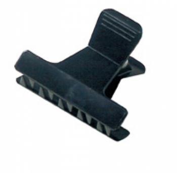 Зажим Comair пластмасовый, черный, (уп. 12 шт.) | Venko