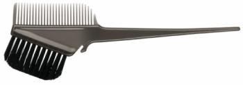 Кисточка для покраски Comair с расчёской черная | Venko