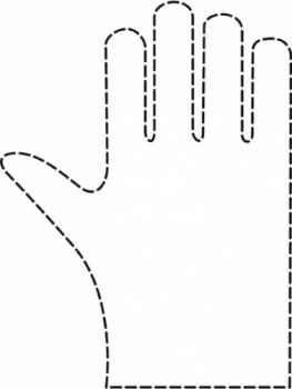Перчатки одноразовые Comair дамские, гладкие, (уп. 100 шт.)