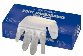 Перчатки из винила Comair, салонные, (уп. 100 шт.), без пудры, средние | Venko