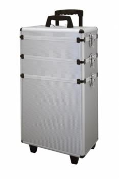 Кейс для инструмента Comair алюминиевый, на роликах